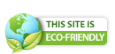 This Site Is Eco-Friendly iPower Green Certified Badge