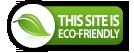 """Certificado """"Verde"""" Este sitio se hospeda en servidores que no contaminan el ambiente"""